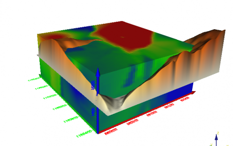 ABEM WalkTEM 3D visualization model