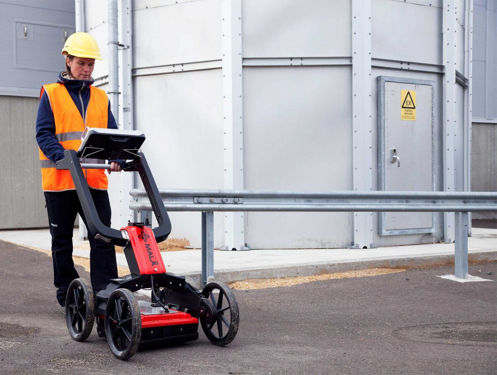 Utility mapping with MALÅ Easy Locator Pro GPR