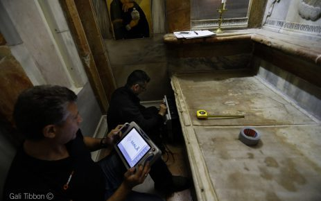 GPR method in the unseiling of Tomb of Christ